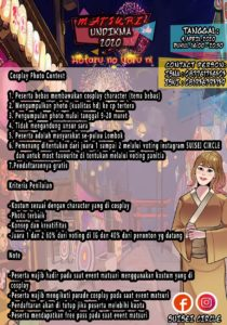 Info Perlombaan Cosplay Contest